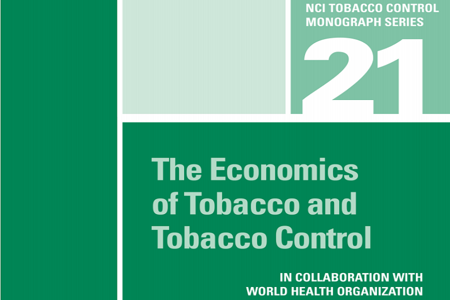 Monograph Released: The Economics of Tobacco and Tobacco Control