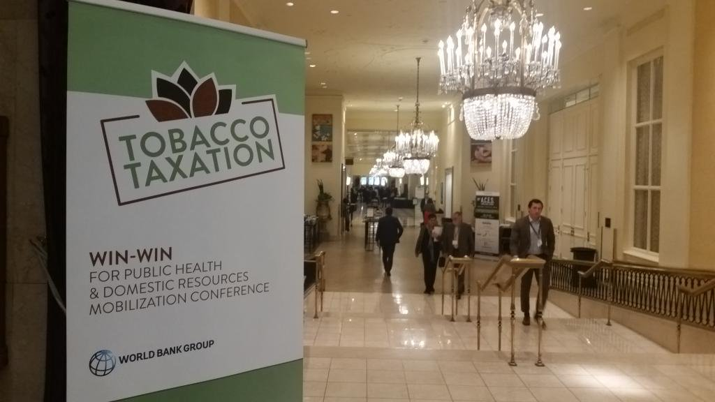 World Bank video release: Tobacco Taxation Win-Win for Public Health and Domestic Resources Mobilization Conference