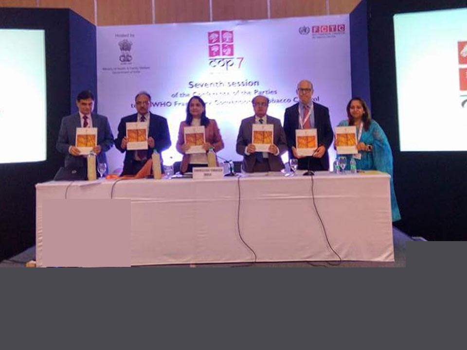 Release of SLT Monograph by Mr. Amal Pusp, Director, Public and International Health