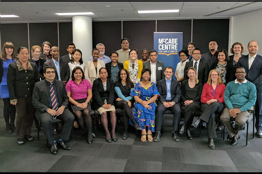 Australia: Sixth McCabe Centre Intensive Legal Training Course on Law and NCDs takes place in Melbourne