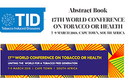 17th World Conference on Tobacco or Health 7-9 March 2018, Cape Town, South Africa