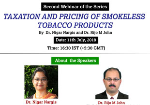 Second Webinar of the series