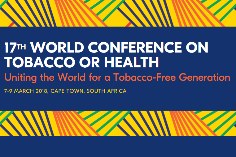 The McCabe Centre at the 17th World Conference on Tobacco or Health